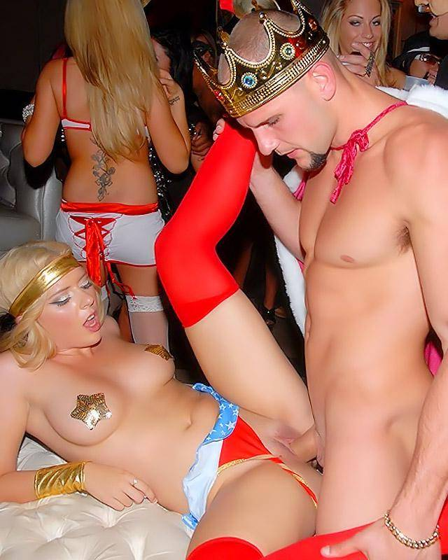 Wife Fucked At Halloween Party